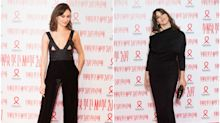 Olga Kurylenko y Monica Bellucci: duelo de chicas Bond en París