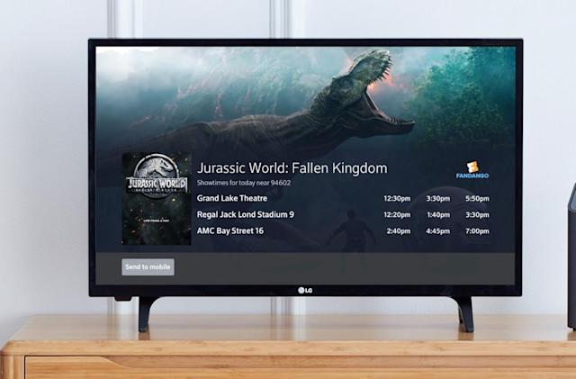 Comcast and Fandango try selling movie tickets through X1