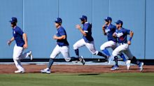 First day of training camp again for Dodgers: 'We're all figuring it out as we go'