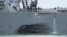 Remains of Navy sailors found after USS McCain collision with tanker