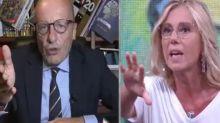 """De Gregorio contro Sallusti: """"Perché chiami tutti per cognome e me per nome?"""""""