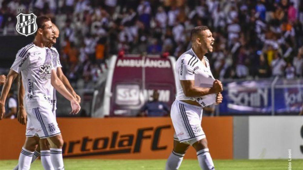 Ponte Preta 1 x 0 Santos: Pottker marca e Ponte sai em vantagem no Paulistão