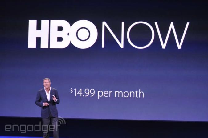 Apple bringt HBO Now Streaming Service exklusiv für die USA