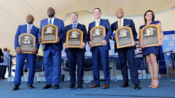 Plaques, speeches and more from Cooperstown