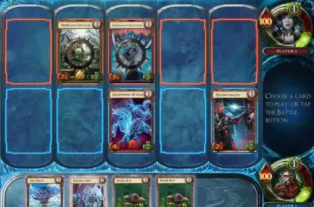 StoneBlade Entertainment (formerly Gary Games) shows off SolForge, coming next year