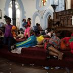 Clergymen attacked at S.African church sheltering foreigners