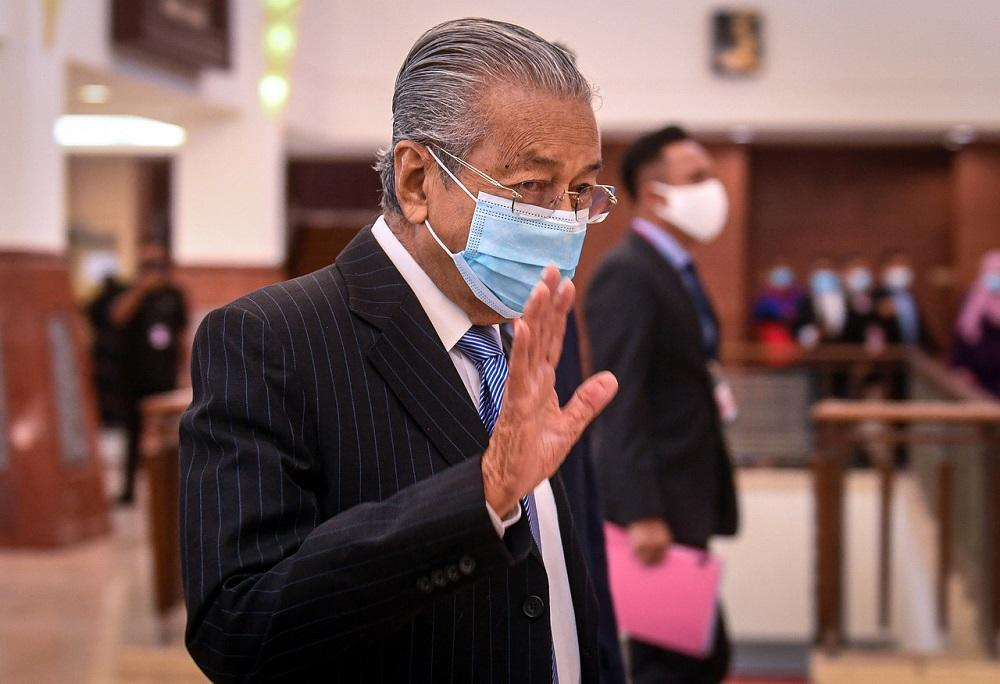 Any other govt facing same Covid-19 setback as Malaysia would've resigned, says Dr Mahathir