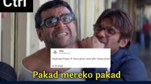 Someone Imagined Iconic Scenes from 'Hera Pheri' as Keyboard Keys and They are Hilariously Accurate