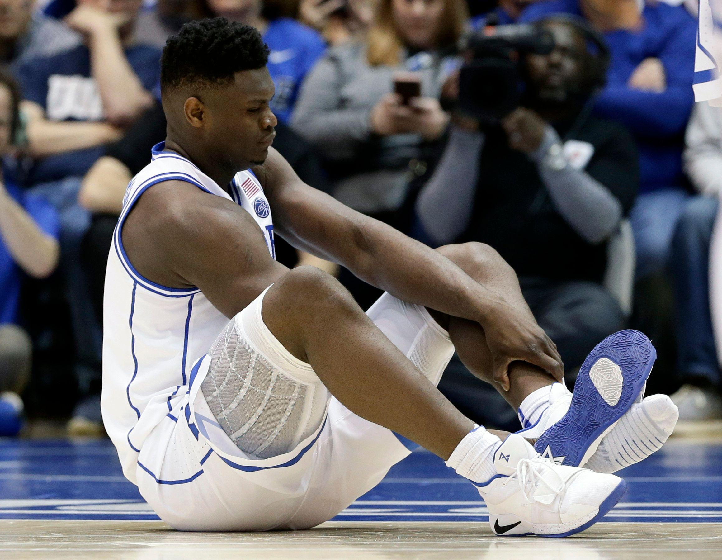 561a38b1b546 Nike is trading like Zion Williamson s shoe never exploded