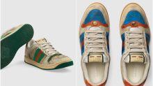 Parecen usadas y cuestan 690 euros: así son las polémicas deportivas de Gucci