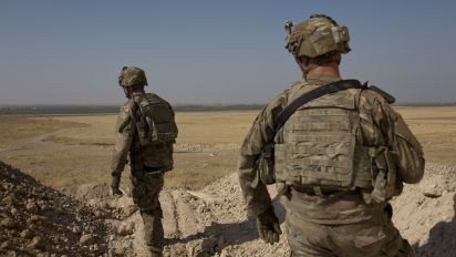 U.S. troops to leave northern Syria: Pentagon