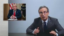 John Oliver calls Trump's comments about George Floyd 'utterly f***ing disgusting'