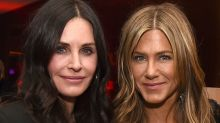 Courteney Cox reveals text she sent to daughter Coco during in-flight emergency on Jennifer Aniston's birthday trip