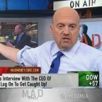 Cramer tackles the question of why the market has been so...