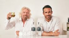 Sir Richard Branson And Ryan Reynolds Announce Partnership Between Virgin Atlantic And Aviation American Gin