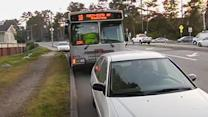 Elderly woman injured after being struck by Muni bus