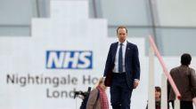 Britain's Prince Charles opens massive new field new hospital to fight coronavirus