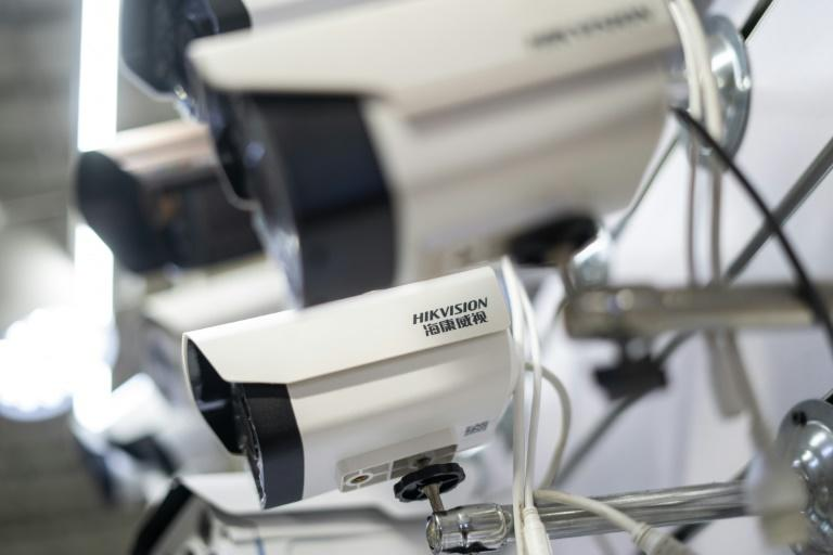 Hikvision is one of the world's largest suppliers of surveillance equipment (AFP Photo/FRED DUFOUR)
