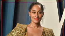 Tracee Ellis Ross Will Convince You To Wear A Corduroy Suit With Chunky Trainers