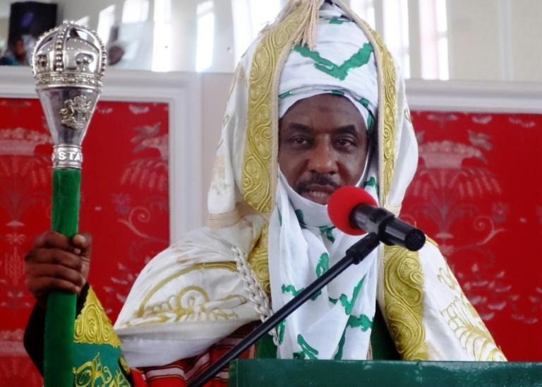The decision to detain and banish Sanusi to an undisclosed location proved controversial (AFP Photo/AMINU ABUBAKAR)
