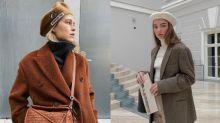 即使今季甚少被提起,貝雷帽卻依然深受時尚女生的青睞!