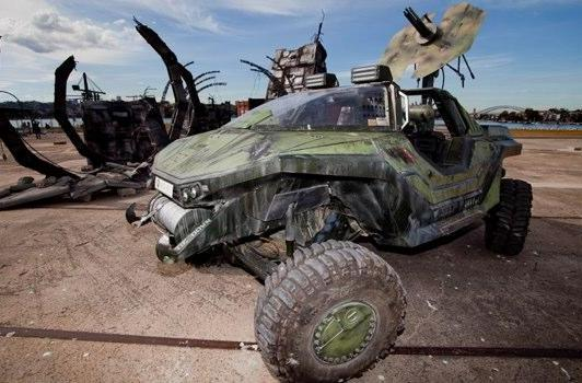 Check out Weta's Halo Warthog this weekend in Sydney Harbor