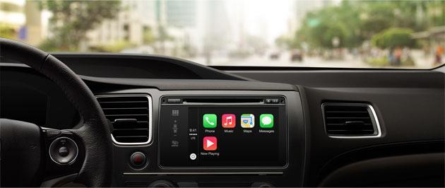 Apple announces CarPlay: in-vehicle voice and touch access to notifications, maps and music (update: video)