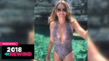 Elizabeth Hurley, 53, spent 2018 breaking the internet in bikinis