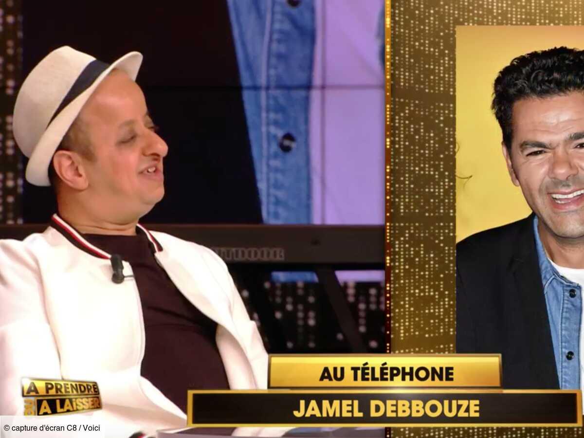 VIDEO A prendre ou à laisser : Jamel Debbouze appelle Cyril Hanouna en direct pour régler un différend avec Booder
