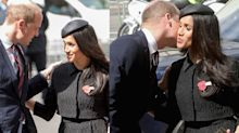 Meghan Markle & Prince William had a sweet moment