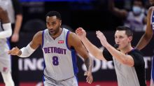Wright, Ellington lead Pistons over 76ers 119-104