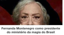 """Fernanda Montenegro não fará """"Animais Fantásticos"""": """"Agenda repleta"""""""