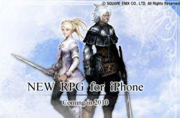New Square Enix RPG coming to the iPhone this year