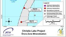 UEX Corporation: 13.96% eU3O8 Over 11.8 m Expands Orora Zone Discovery