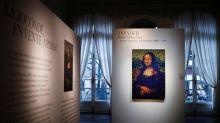 Invader's 'Rubik Mona Lisa' beats estimate at Paris auction