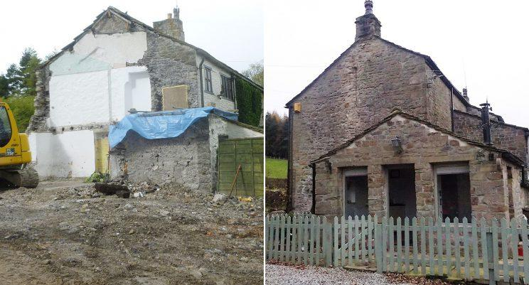 Couple Return From Holiday To Find Cottage Missing Wall