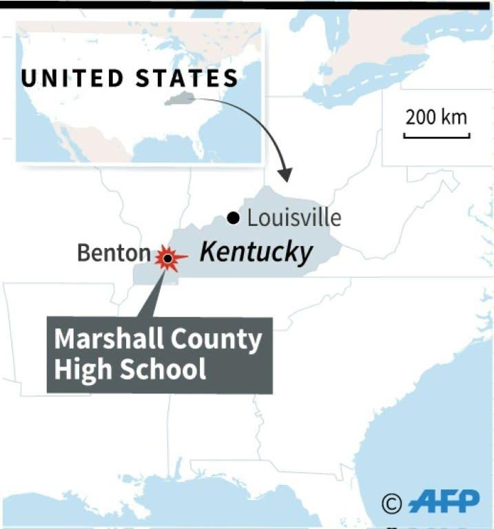 Columbine High School Shooting 13 Dead Dozens Hurt In: Kentucky School Shooting Leaves Two Students Dead