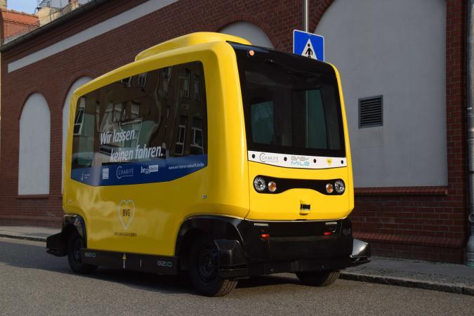 In Berlin fahren ab Frühjahr autonome Minibusse
