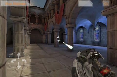 Unreal Engine 3 running on the iPod touch