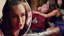 MAFS star Hayley responds to 'physical abuse' backlash