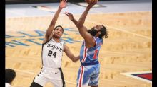 NBA roundup: James Harden returns, leads Nets past Spurs