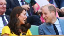 Kate Middleton shines in a $1,050 yellow dress at Wimbledon finals with Prince William