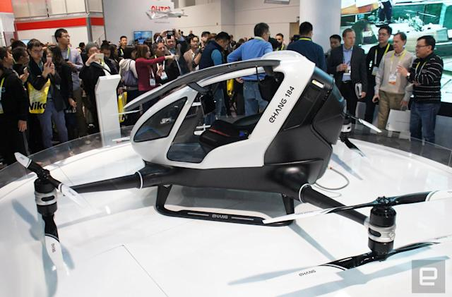 This supersized drone will fly you to work (or anywhere)
