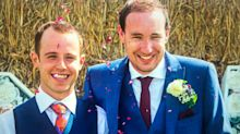 Gay couple sent anonymous letter before their village wedding warning them to 'get married elsewhere'