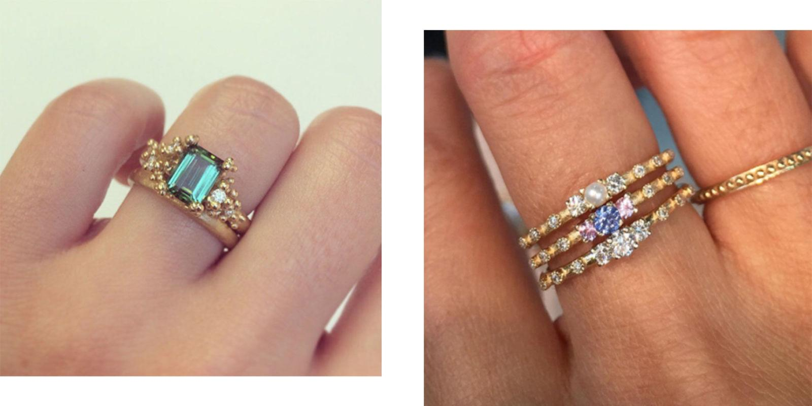 Engagement Ring By Star Sign