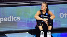 Sabrina Ionescu will reportedly miss one month with grade 3 ankle sprain