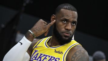 How will LeBron earn respect? 'Me? Huh?'
