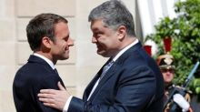 Differing with U.S., Macron stands by Minsk accords to resolve Ukraine crisis