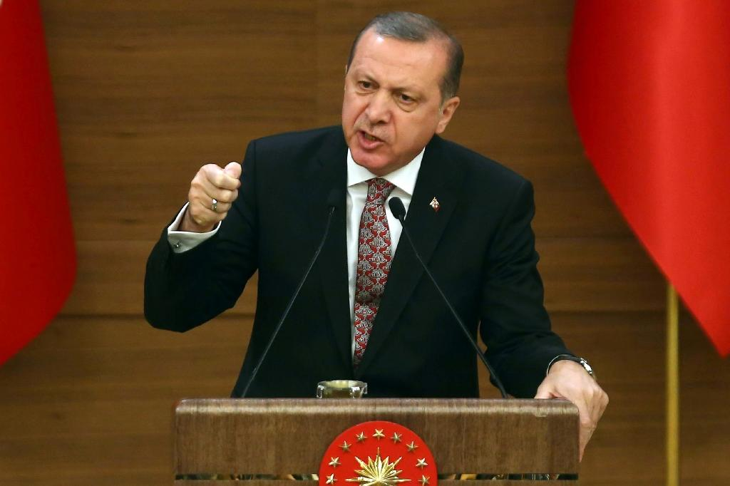 Turkey's President Recep Tayyip Erdogan (AFP Photo/ADEM ALTAN)