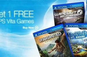 Buy 2 get 1 free on select Vita games at GameStop starting today